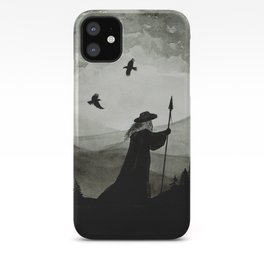Odin, Huginn and Muninn. iPhone Case