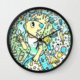 The Galaxy of Creativity Wall Clock