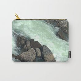 Rocks in stream Carry-All Pouch