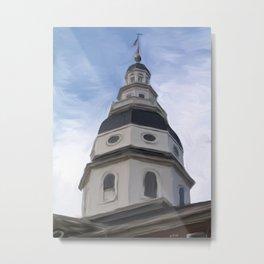 Annapolis, MD capitol building Metal Print