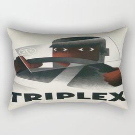Vintage poster - Triplex Rectangular Pillow