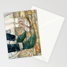 Brogues for a date Stationery Cards