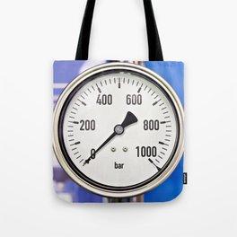 Industrial analog manometer Tote Bag