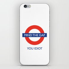 Mind The Gap iPhone Skin