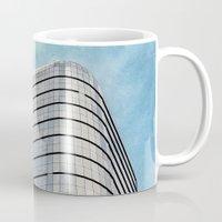 building Mugs featuring Big Building by Mauricio Santana