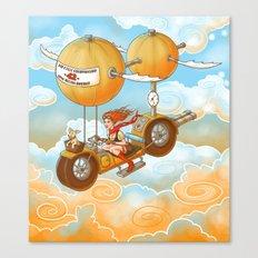Air Cycle Championship 1916 Canvas Print