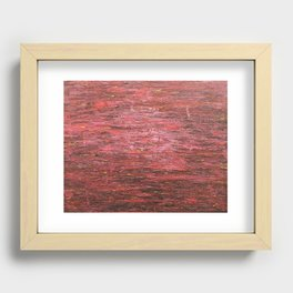 Yearning Recessed Framed Print