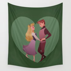 You'll love me at once Wall Tapestry