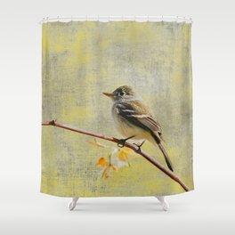 Flycatcher Shower Curtain