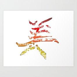belleza japones Art Print