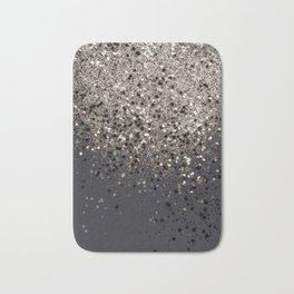 Sepia Glitter #1 #shiny #decor #art #society6 Bath Mat