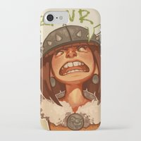 viking iPhone & iPod Cases featuring Viking by DustyLeaves