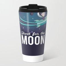 Shoot For the Moon Metal Travel Mug