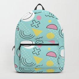 Geometric Pattern 36 Backpack