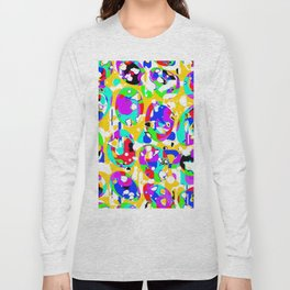 Colorful ovals Long Sleeve T-shirt