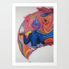 A Lover's Desire Art Print