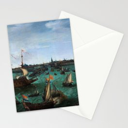 "Hendrik Cornelisz Vroom ""The Arrival of Elector Frederick V of the Palatinate and Elizabeth"" Stationery Cards"