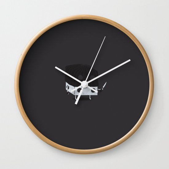 Dicey Little Guy Wall Clock