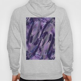 Thunder Plum Abstract Hoody