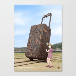 Takao Railway Museum Canvas Print
