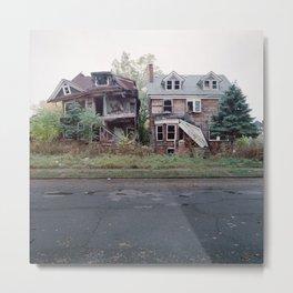 Abandoned Houses Metal Print