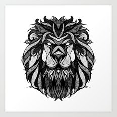 Signs of the Zodiac - Leo Art Print