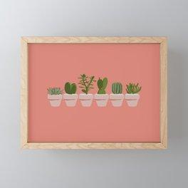Cacti & Succulents Framed Mini Art Print