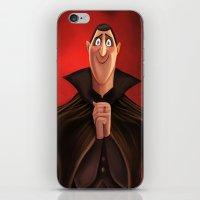 dracula iPhone & iPod Skins featuring Dracula by Niniel