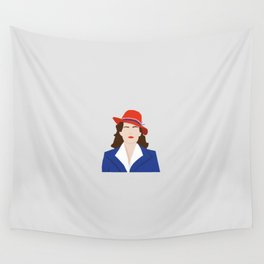 Agent Carter Vector Wall Tapestry