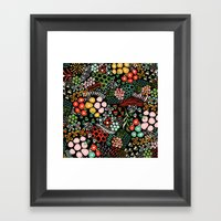 Winter Bouquet Framed Art Print