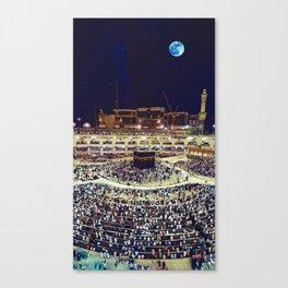 Kabaah, Masjid al-Haram, Mecca, Saudi Arabia Canvas Print