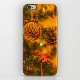 Christmas Time. iPhone Skin