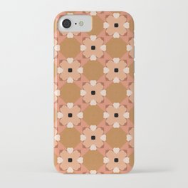 Moroccan floral rattan iPhone Case