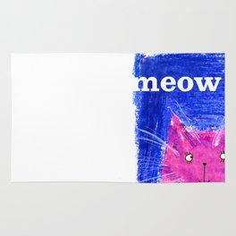 Crayon Cat Rug