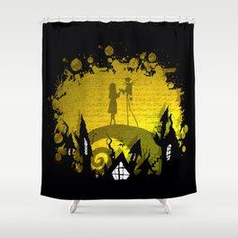 Jack Skellington and Sally Shower Curtain