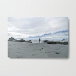 Nude to the Sea Metal Print