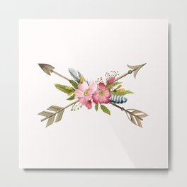 Sweet Arrows Metal Print