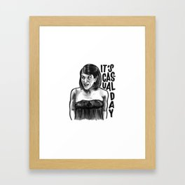 Meredith | Office Framed Art Print