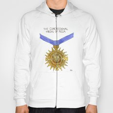 The Congressional Medal of Pizza Hoody