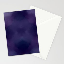Deep Violet Tie Dye Stationery Cards
