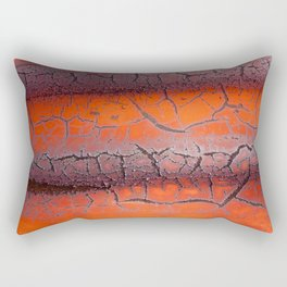 Orange rust Rectangular Pillow