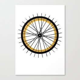 RIDE & SHINE Canvas Print
