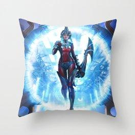 Smite Neith  Throw Pillow