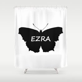 Ezra Butterfly Shower Curtain