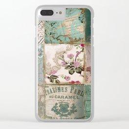 Nine Times Paris Clear iPhone Case