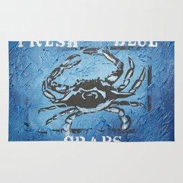Fresh Blue Crabs Rug