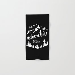 Let the Adventure Begin Hand & Bath Towel