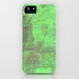 green seas of Mars iPhone Case