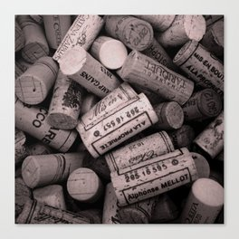 Bunch of Corks Canvas Print