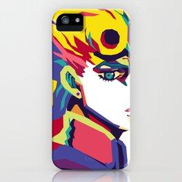 Giorno Giovanna Jojo Bizzare iPhone Case